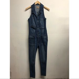 Highway vintage style denim jumpsuit overalls 7